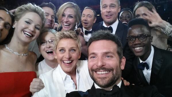 Ellen Selfie explorecurate
