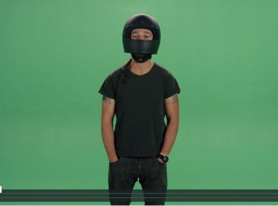 Shia LeBeouf uses greenscreen to allow remixes in latest project